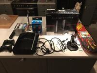 Boxed PS3 40gb with 2 controllers and 13 games