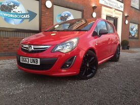 VAUXHALL CORSA 1.3 CDTi ecoFLEX 16v Limited Edition 5dr (a/c) (red) 2013