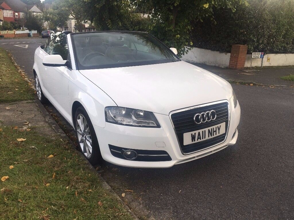 audi a3 cabriolet 1 6 tdi sport 2dr hpi clear 1 year mot 2keys in thornton heath london gumtree. Black Bedroom Furniture Sets. Home Design Ideas