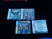4 Nintendo DS games for sale £9.00