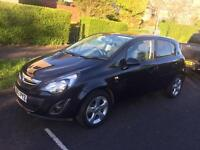 Black corsa 2013 low mileage lady owner