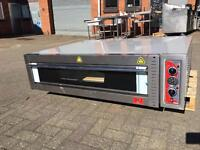 Large Single Pizza Oven, bakery oven, electric 3-phase
