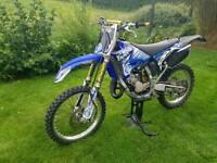 Yamaha yz125 road legal/registered