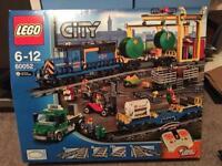 Lego 60052 battery cargo train set boxed vgc