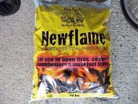 Coal One bag of smokeless briquettes