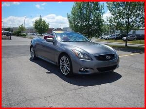 2012 Infiniti G37 LUXURY INTERIOR RED NAV FINANCEMENT 0.