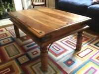 Lovely sheesham coffee table in good condition