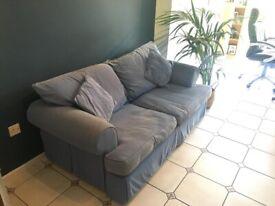 Denim Blue Sofa Bed