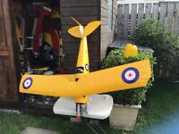 "RC Model Tiger Moth. 55"" wingspan"