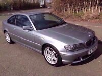 1 PREVIOUS OWNER* 06* BMW E46 320D COUPE* 6 SPEED* DIESEL* YEARS MOT *50MPG F.S.H Great Car!