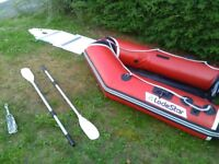 Lodestar rib boat for sale with oar's and a anker and a few extra's