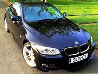 ★12 MONTHS WARRANTY★ 2011 BMW 3 SERIES 320i M SPORT COUPE 2.0 ★ FACE LIFT E92 ★ FREE DELIVERY UK