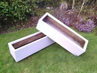 Planters large rectangular