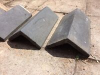 Reclaimed Victorian / Edwardian Wall Copings, Staffordshire Blue