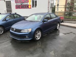 2015 Volkswagen Jetta 2.0 TDI Highline (Only $119 bi-weekly w...