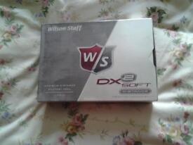 willson staff golf balls