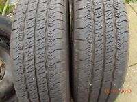 van wheels/tyres 195/65/16c