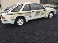 White Ford Sierra 1985 XR 4i (2 Door)
