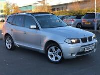 BMW X3 3.0i M SPORT AUTOMATIC 4x4 *PAN ROOF+TV*