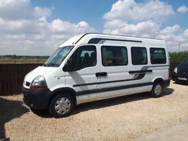 Px newly built campervan