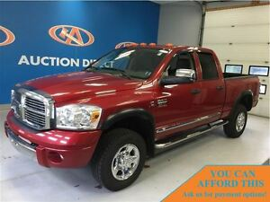 2008 Dodge Ram 2500 Laramie, DIESEL, 4X4, FINANCE NOW!!