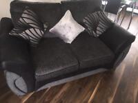 Lovely couch from Dfs with puffy