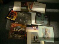 Vinyl records,X 13,Beatles pink floyd,Alice Cooper ETC