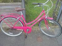 "Ladies step through Bike. 19"" Frame. Good condition."