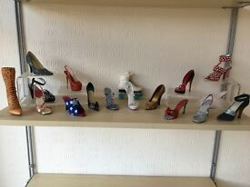 """""""Just the right shoe"""" collection of 17"""
