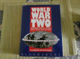 World War 2 Chronological atlas hardback book