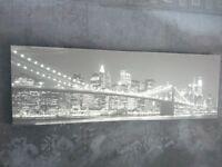 New York Bridge Canvas