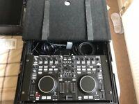 Denon DJ MC3000 digital mixer and Zomo flight Case