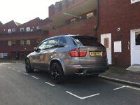 BMW X5 twin turbo swap