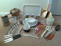 50 Piece Kitchen Starter Set