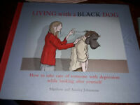 living with the black dog, how to care of someone with depression