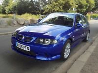 2005 MG ZS+ 5 Door in Trophy Blue with only 58000 miles and a 12 month MOT