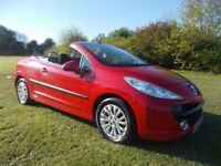 BREAKING 2008 PEUGEOT 207 CC CONVERTIBLE 1.6 PETROL