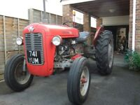 massey ferguson 35 petrol tractor,vanguard engine ,very original many parts
