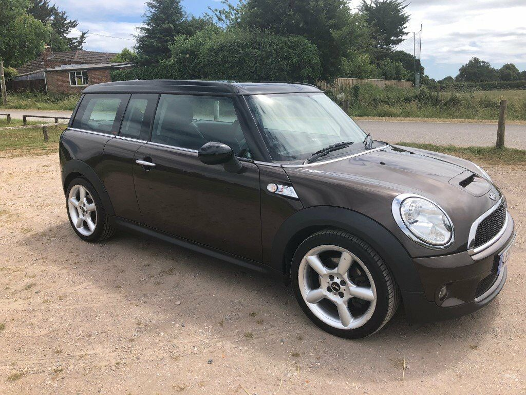 2008 Mini Clubman Cooper S Auto Estate 63k Fsh Chili