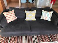 3-seat sofa Soderhamn dark grey