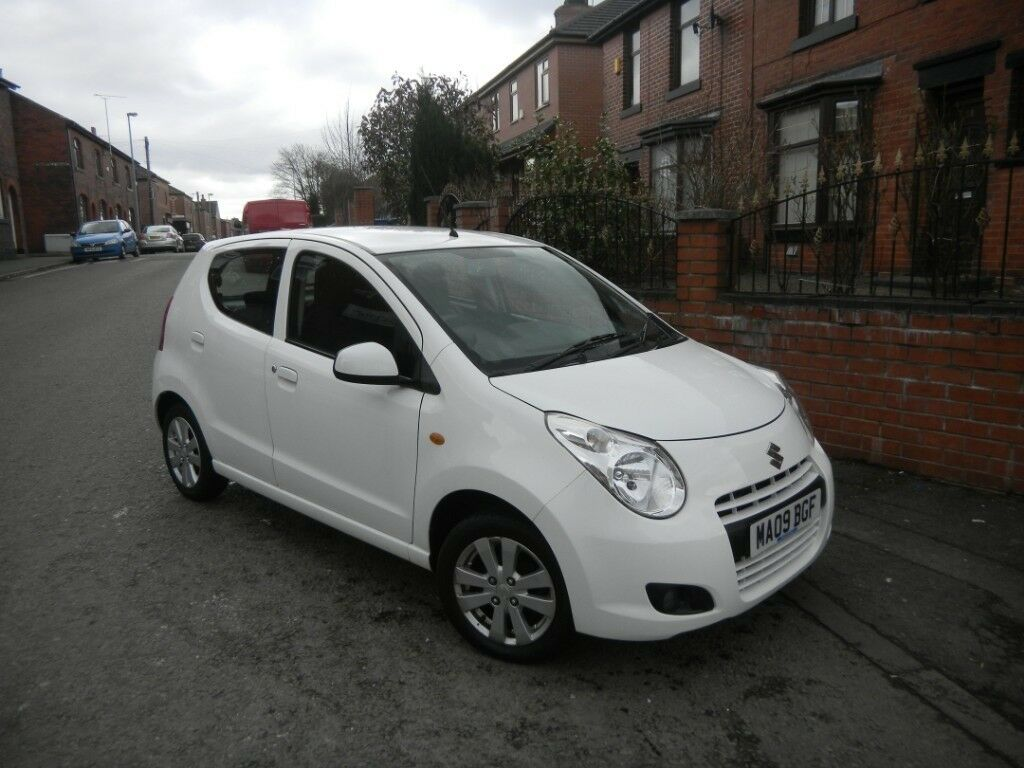 SUZUKI ALTO SZ4 1.0 09 REG WHITE 5 DOOR LOW MILEAGE £20 YEARLY TAX 12 MONTHS MOT