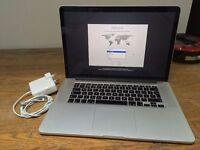 "Apple MacBook Pro Retina 15.4"" Late-2013 GT750M 512GB SSD 2.3GHz i7 ME294B/A"
