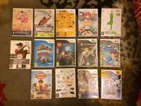 14 kids Nintendo Wii Games