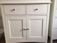 M&S BABY CHANGING UNIT - IVORY - VERY GOOD CONDITION