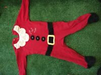 Santa sleep suit
