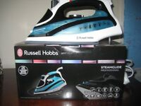 RUSSEL HOBBS STEAMGLIDE PROFESSIONAL IRON - AS NEW - BOXED