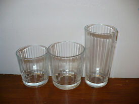 House clearance! Set of 31 glasses. Only 25p each!