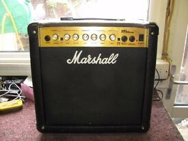 Marshall Electric Guitar Amplifier, Model 15CDR, MG Series.