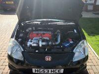 Supercharged Honda civic type R ep3 320bhp