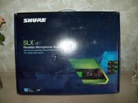 SHURE SLX1 & SLX4 WIRELESS GUITAR SYSTEM